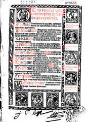 Opus regale in quo continentur infrascripta opuscula... [Praef. Andree de Soncino in libros Jo. Ludo. Viualdi]
