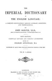 The Imperial dictionary, on the basis of Webster's English dictionary: Volume 4
