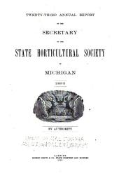Report of the Michigan State Pomological Society: Volume 23