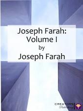 Joseph Farah: Volume I: Volume 1