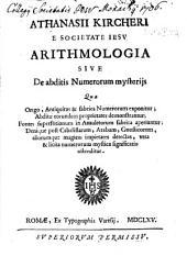 Arithmologia