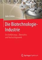 Die Biotechnologie Industrie PDF