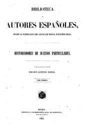 Biblioteca de autores españoles: Volumen 21