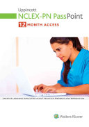 Lippincott Nclex pn Passpoint   Lippincott Docucare  One year Access   Nursing Concepts Coursepoint