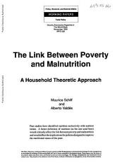 The Link Between Poverty and Malnutrition: A Household Theoretic Approach
