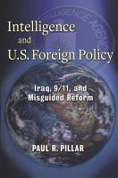 Intelligence and U S  Foreign Policy PDF