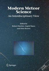 Modern Meteor Science: An Interdisciplinary View