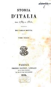 Storia d'Italia dal 1789-al 1814