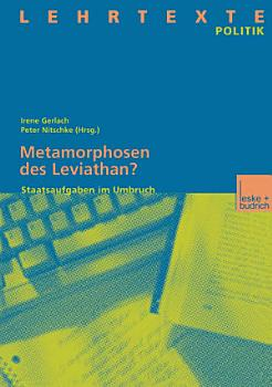 Metamorphosen des Leviathan  PDF