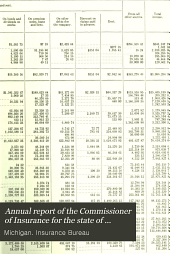 Annual Report of the Commissioner of Insurance for the State of Michigan