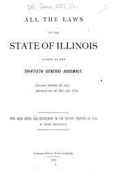 Public Laws of the State of Illinois