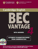 Cambridge BEC 4 Vantage Self study Pack  Student s Book with answers and Audio CDs  2   PDF