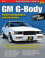 GM G Body Performance Projects 1978 1987 PDF