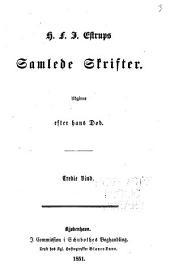 Samlede Skrifter: udgivne efter hans Død, Bind 3