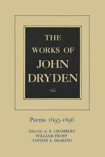 The Works of John Dryden, Volume IV
