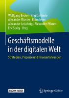 Gesch  ftsmodelle in der digitalen Welt PDF