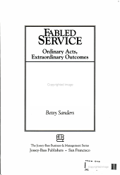 Fabled Service PDF