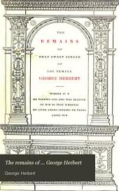 The remains of ... George Herbert