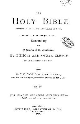 The Holy Bible According to the Authorized Version (A.D. 1611)