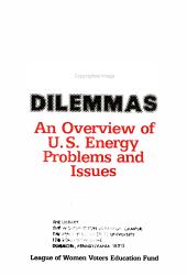 Energy Dilemmas PDF