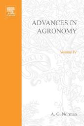 Advances in Agronomy: Volume 4