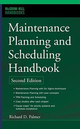 Maintenance Planning and Scheduling Handbook PDF