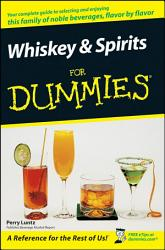 Whiskey And Spirits For Dummies Book PDF