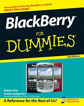 BlackBerry For Dummies PDF