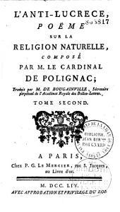 L'anti-Lucrèce: poème sur la religion naturelle...