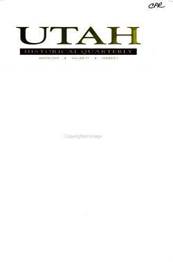 Utah Historical Quarterly PDF