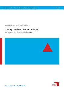 Planungswerkstatt Hochschullehre PDF