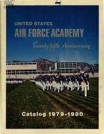 Annual Catalog - United States Air Force Academy