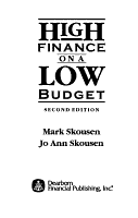 High Finance on a Low Budget PDF