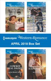 Harlequin Western Romance March 2018 Box Set: Twins for the Rancher\The Right Cowboy\Rodeo Legends: Shane\A Home with the Rancher