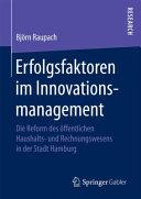 Erfolgsfaktoren im Innovationsmanagement PDF