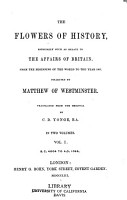 The Flowers of History PDF