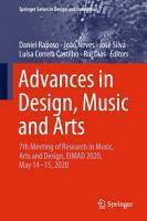 Advances in Design  Music and Arts PDF