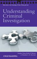 Understanding Criminal Investigation PDF