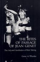 The Rites of Passage of Jean Genet PDF