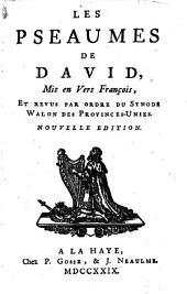 Les pseaumes de David,