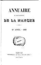 Annuaire du Département de la Manche: Volumes61à63