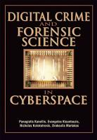 Digital Crime and Forensic Science in Cyberspace PDF
