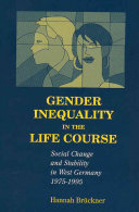Gender Inequality in the Life Course PDF