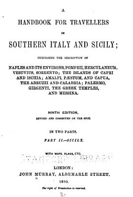 A Handbook for Travellers in Southern Italy and Sicily PDF