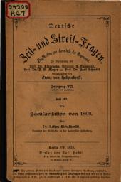 Die Säcularisation von 1803