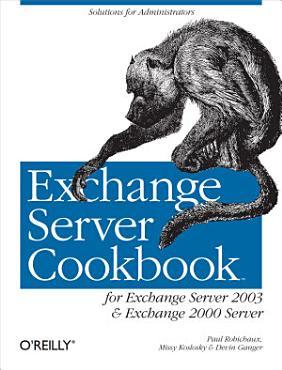 Exchange Server Cookbook PDF
