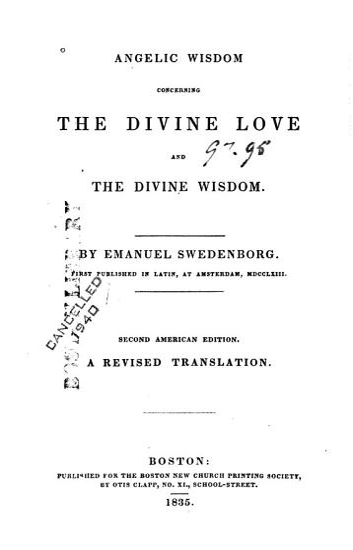 Angelic Wisdom Concerning the Divine Love and the Divine Wisdom PDF
