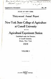 Annual Report: Part 1