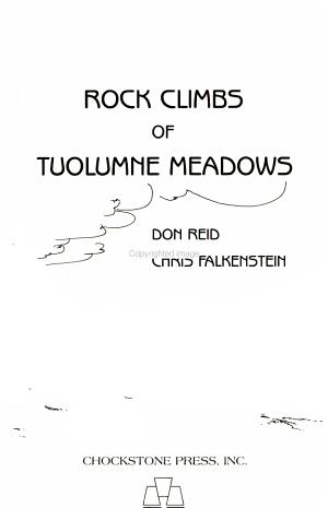 Rock Climbs of Tuolumne Meadows