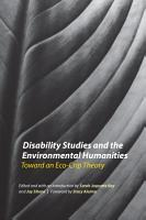 Disability Studies and the Environmental Humanities PDF